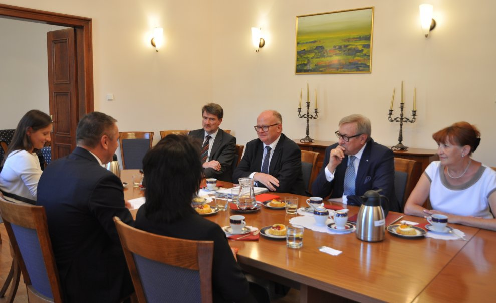 Spotkanie w Urzędzie Wojewódzkim