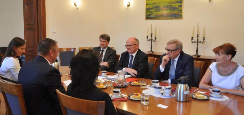 Spotkanie w Dolnośląskim Urzędzie Wojewódzkim / Treffen im Niederschlesischen Wojewodschaftsamt