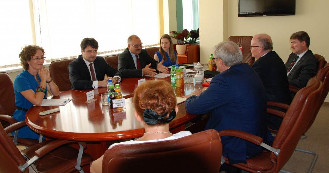 Z wizytą u Marszałka Województwa Dolnośląskiego