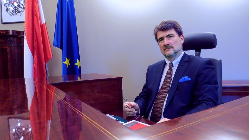 Konsul Honorowy Austrii we Wrocławiu / Der österreichische Honorarkonsul in Wrocław