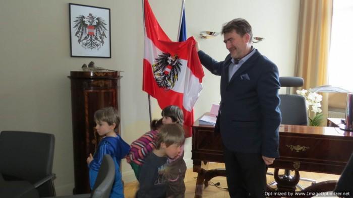 Przedszkole Kidˋs Corner z wizytą u Konsula