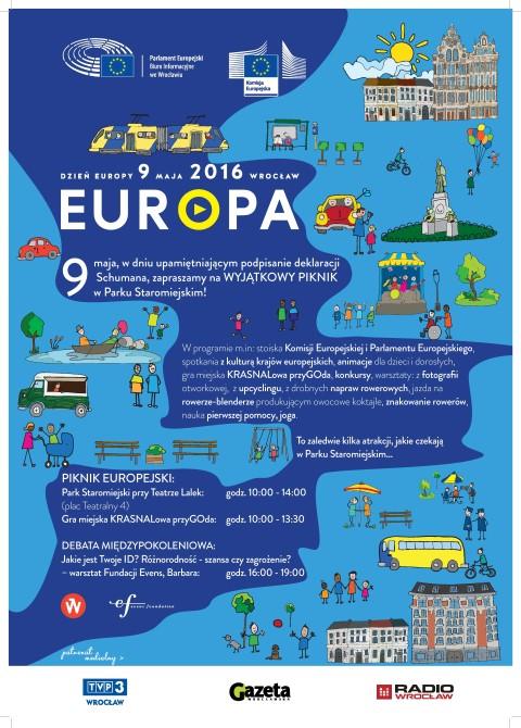 Dzień Europy 9 maja -świętujmy razem!