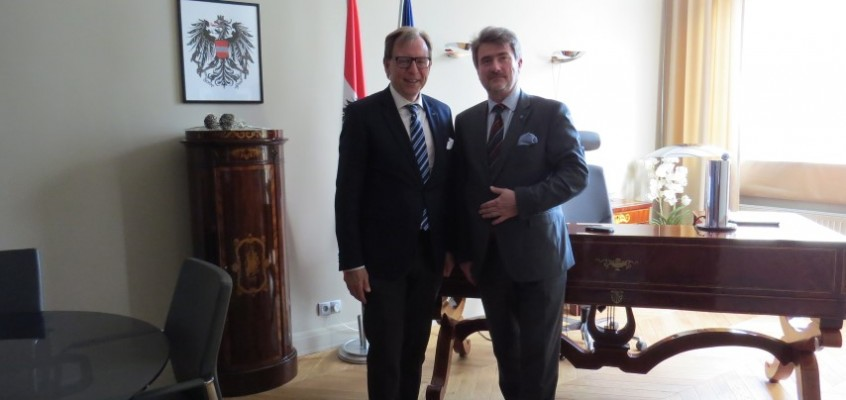 Wizyta styryjskiej delegacji/ Besuch einer Delegation aus Steiermark