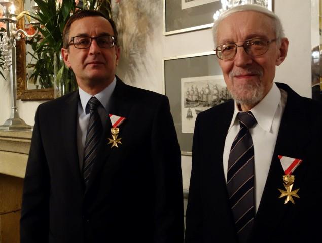Österreichischer Botschafter überreicht österreichische Orden/ Austriacki Ambasador wręcza austriackie ordery