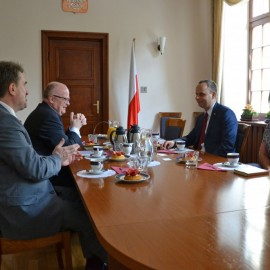 Spotkanie u Wojewody Dolnośląskiego