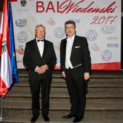 Organizatorzy Balu Wiedeńskiego 2017
