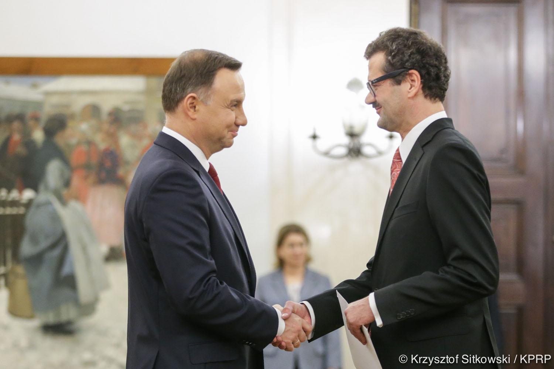 Prezydent RP i Ambasador Austrii