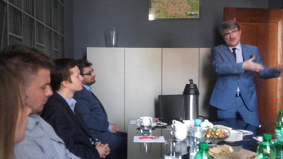 FMD podczas spotkania z Konsulem