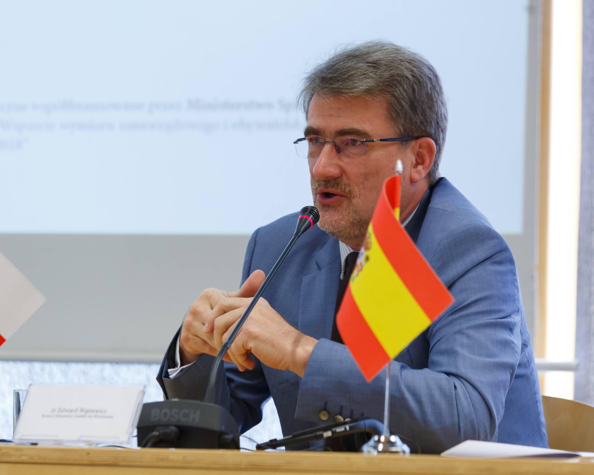 Konsul Honorowy Austrii podczas Panelu Dyplomacja publiczna