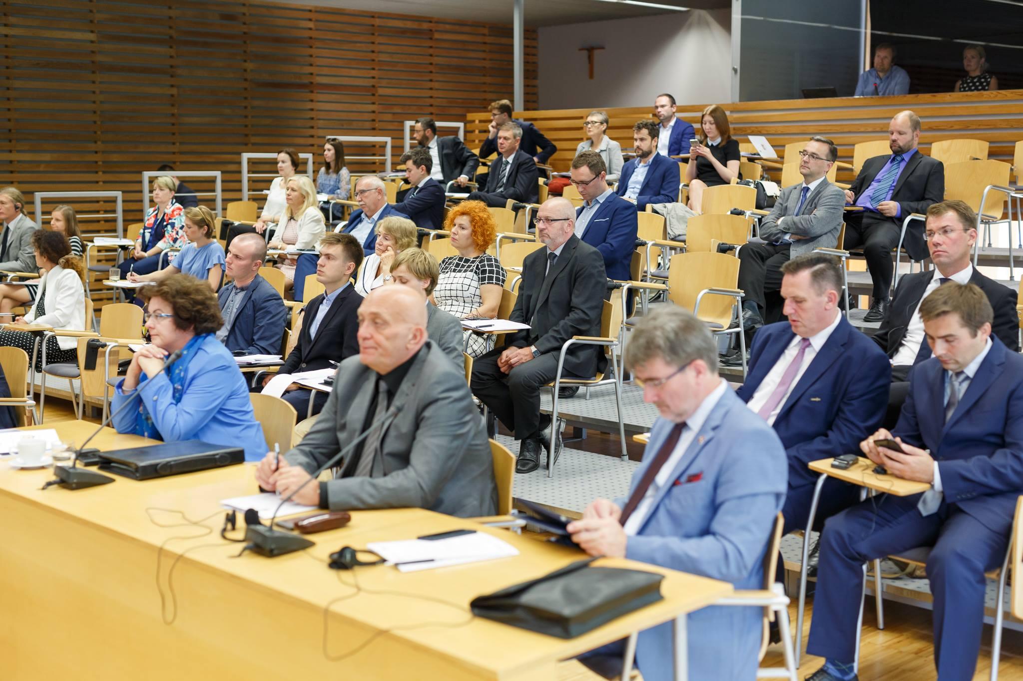 uczestnicy Konferencji Dyplomacja Publiczna w Europie