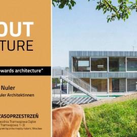 Zaproszenie na wykład architekt Julii Nuler