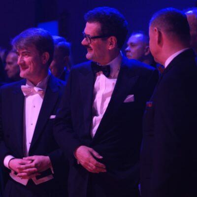 (od lewej) Starosta Powiatu Wrocławskiego, Ambasador Austrii i Konsul Honorowy