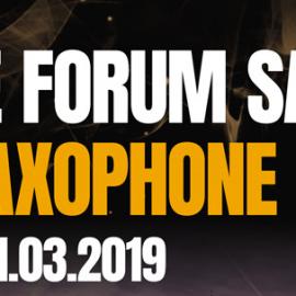 Europejskie Forum Saksofonowe 2019