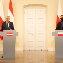 Wizyta Prezydenta Republiki Austrii w Polsce